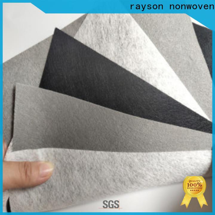 Rayson Vlies-Masse Kaufen Nichtwoven-Nadel-Punch-Vliesstoff-Hersteller-Unternehmen