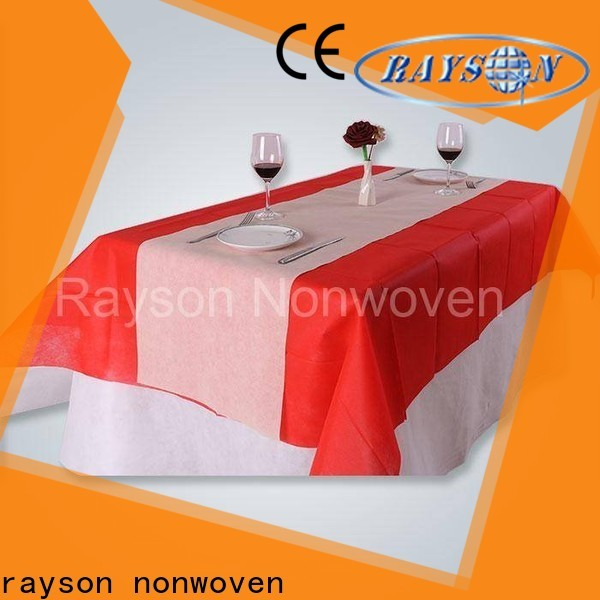 Rayson Nonwoven Rayson Nonwoven Tablero desechable verde fábrica