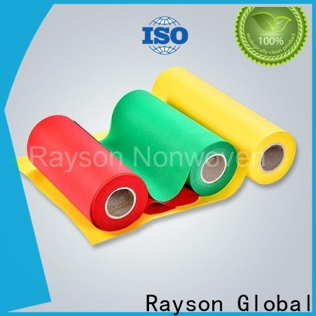 Precio de tela de polipropileno no tejido rayson no tejido fábrica