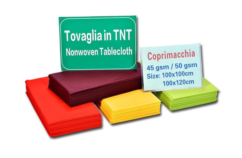 rayson nonwoven,ruixin,enviro-Wholesale Square Eco-friendly Non Woven Table Cloth TNT Table Cover