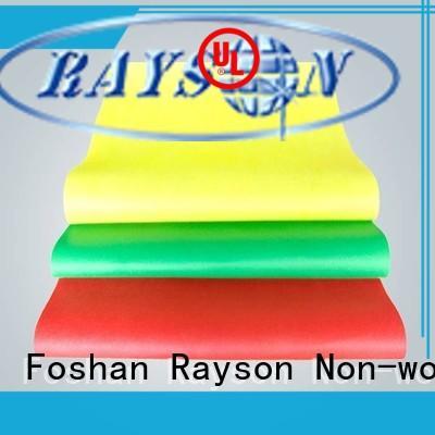 Rayson 부직포, ruixin, 환경 상점 장식품 재료 의자 문의 지금 호텔