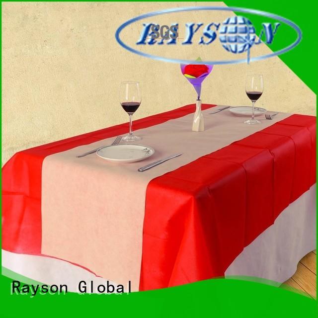 rayson nonwoven,ruixin,enviro Brand market size 100cm non woven polypropylene fabric suppliers