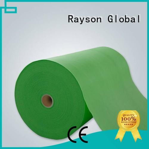 Spunbond nonwoven कपड़े गैर मूल्य rayson गैर बुना हुआ, ruixin, Enviro ब्रांड गैर बुना पॉलीप्रोपाइलीन
