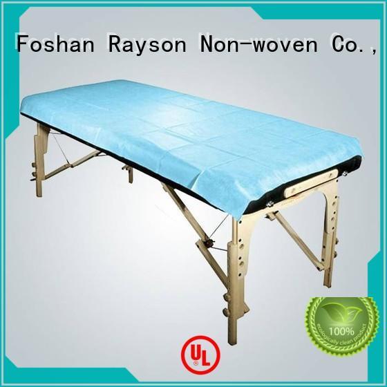 non woven clothes medical bedsheet rayson nonwoven,ruixin,enviro Brand