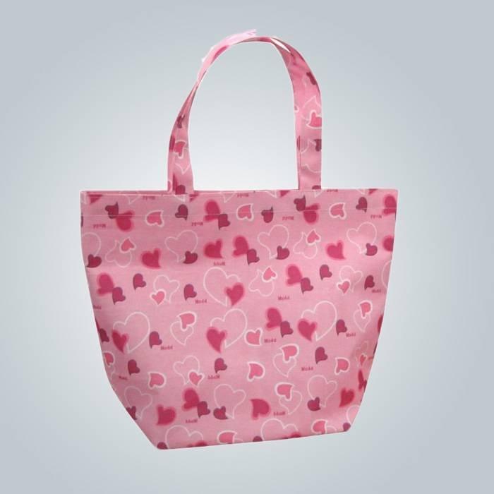 Eco - sympathique sac à provisions Non tissé en polypropylène avec impression de motifs