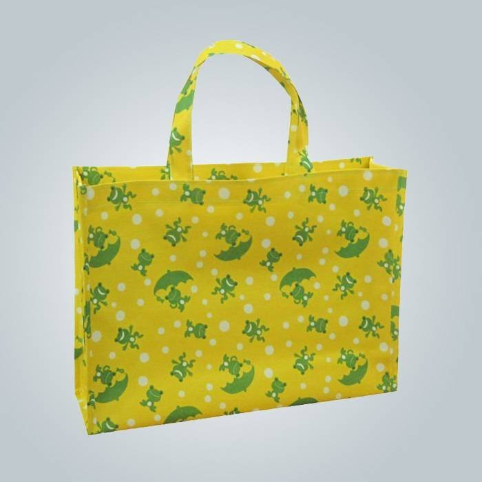 Langlebig und Recycling pp non woven Tasche mit Logo Priniting, Einkaufstasche mit langen Griff