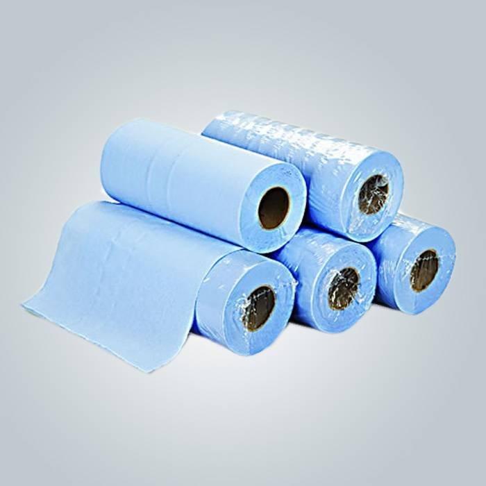Papier jetable lit drap, drap de lit 110 * 210cm SMS, beauté rose couvre-lits pour Spa