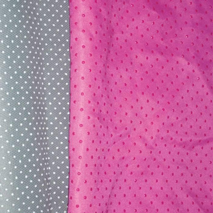 مكافحة زلة منسوج وبولي غير المنسوجة النسيج تستخدم لفراش