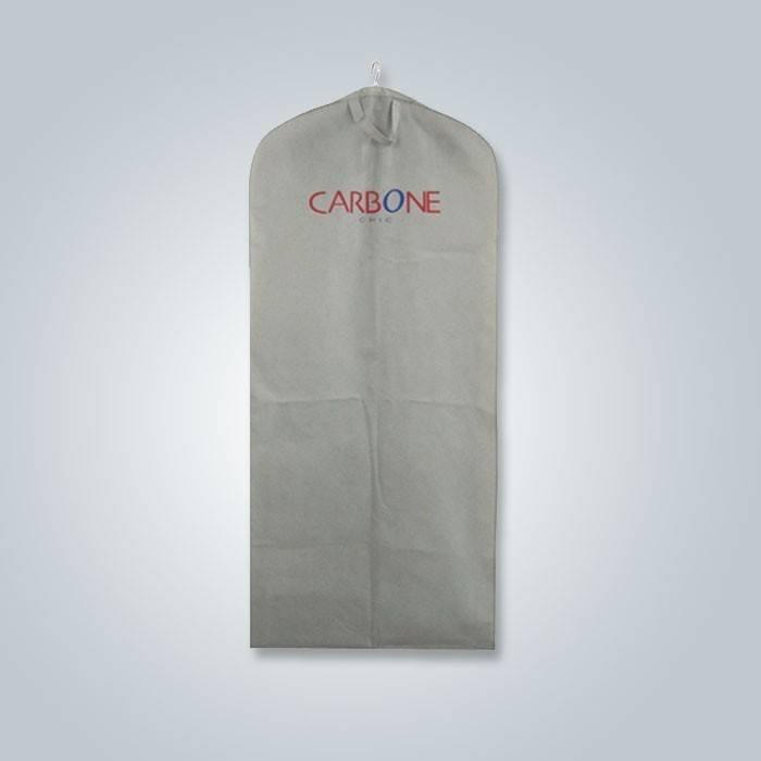 Descartáveis ecológicos 100% polipropileno não tecido terno capa no estilo da moda