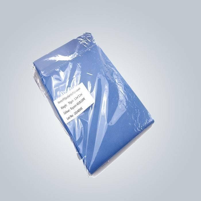 OEM y OeD PE recubierto desechable Bedsheet no tejido utilizado en el Hospital