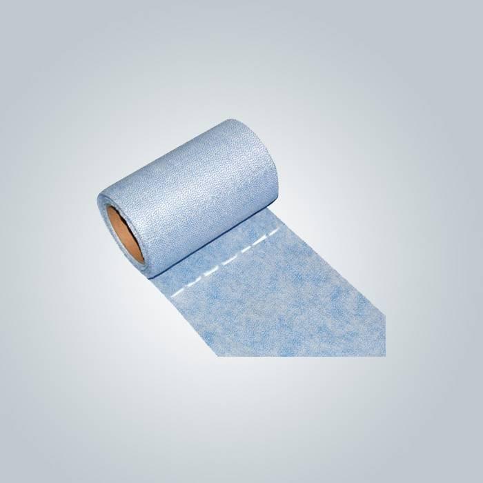 Rosso perforato mobili e tovaglie di tessuto non tessuto usato
