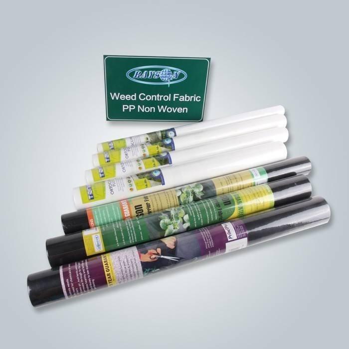 SGS Zatwierdzona przez certyfikacja tkaniny chwastów w małych rolkach
