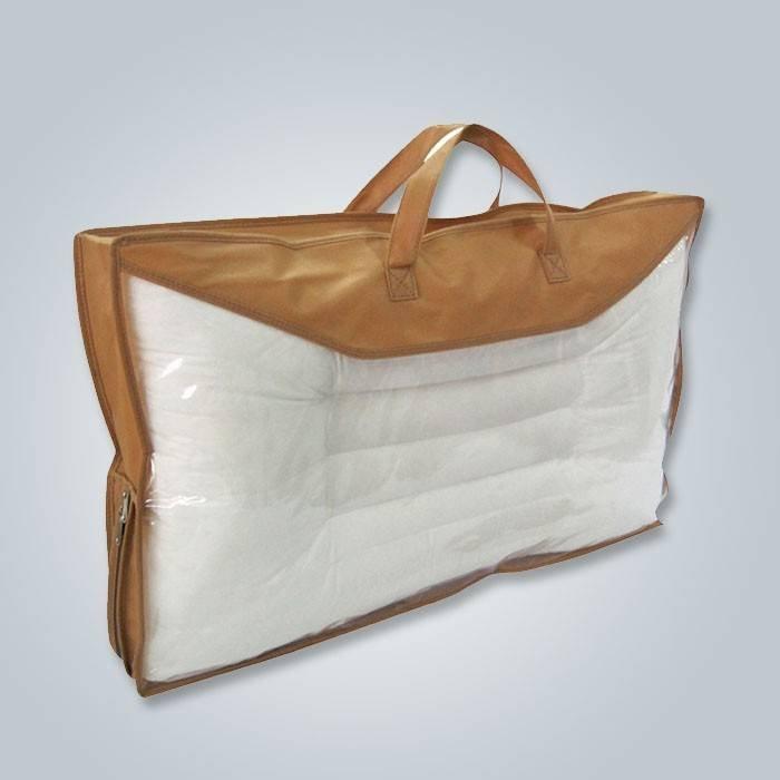 Petite vente chaude faite sur commande de couverture d'oreiller non-tissée de diverses couleurs au marché de l'Europe