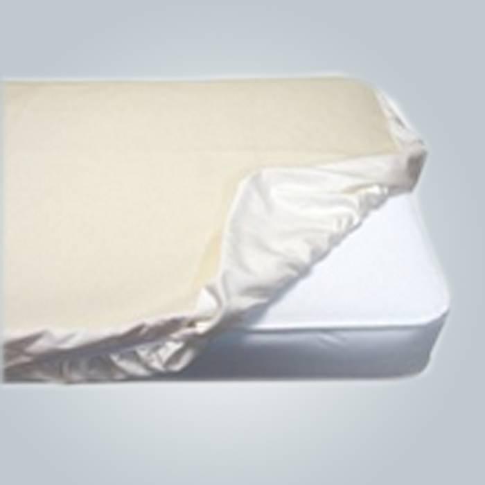 mattrees almohadilla de colchón de poliéster cubierta profunda dormir colchón colchón/algodón