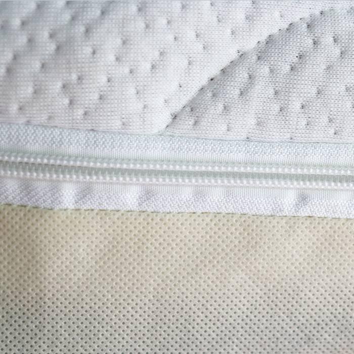 Matelas confortable & douce aménagée couvrir, protecteur de grande taille avec fermeture à glissière