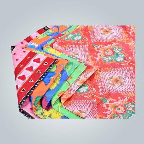 tissus non-tissés, spunbond imprimée tissu non tissé, tissu non tissé en gros