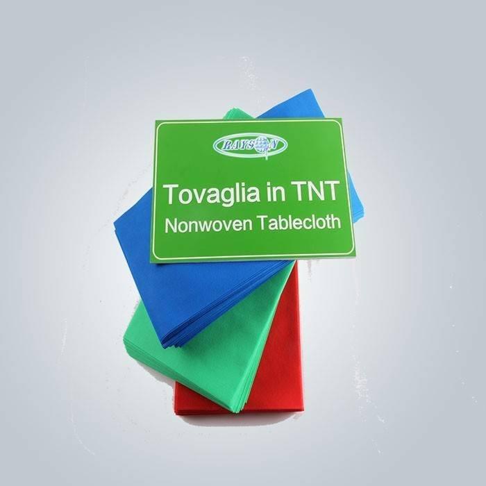 مفرش توفاجليا في مادة TNT غير المنسوجة دليل على المياه