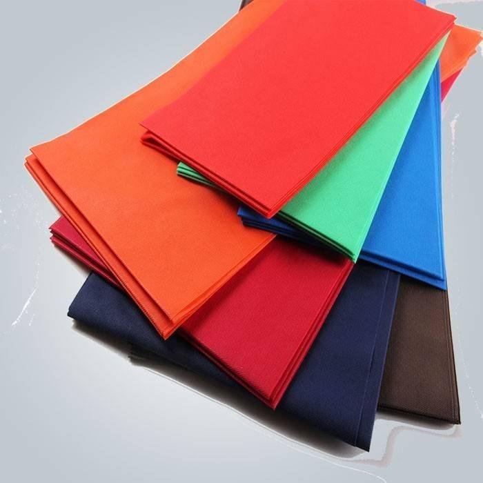 Wegwerf-nicht gesponnene Tischdecke-bunte hitzebeständige Tnt-Tabellen-Abdeckung für das Säubern benutzt