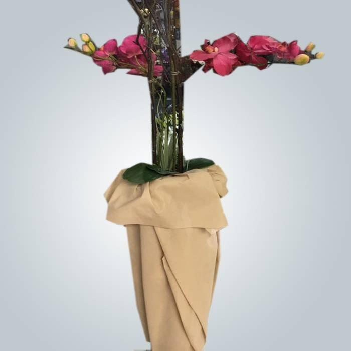 Nueva venta de buena calidad de la flor que embala la tela no tejida de los PP con diversos colores