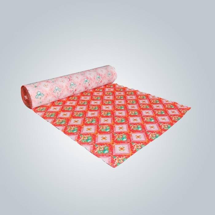 70gr PP spunbond imprimé tissu non tissé pour couvre-matelas