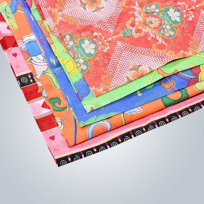 SGS certificato PP non tessuti stampati per tovaglia monouso