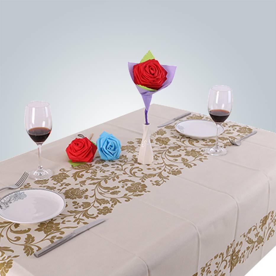 Para descartáveis de festa não tecido toalha de mesa