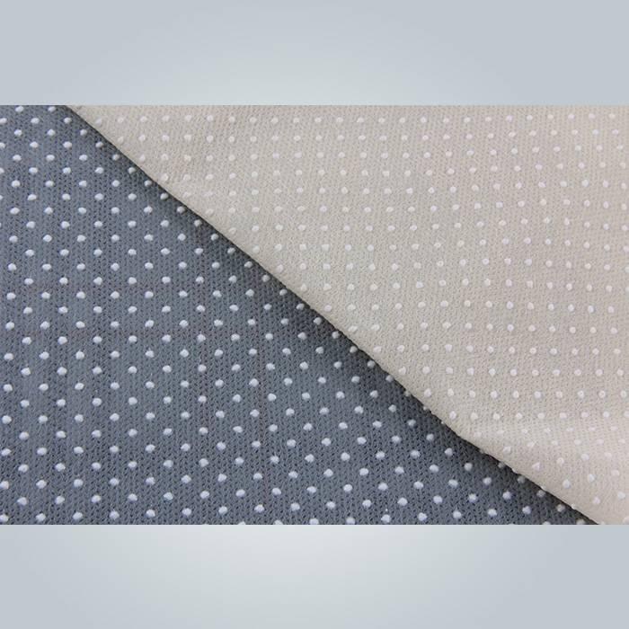 120ram couleur noir et gris anti non tissée de glissement pour couvre-matelas