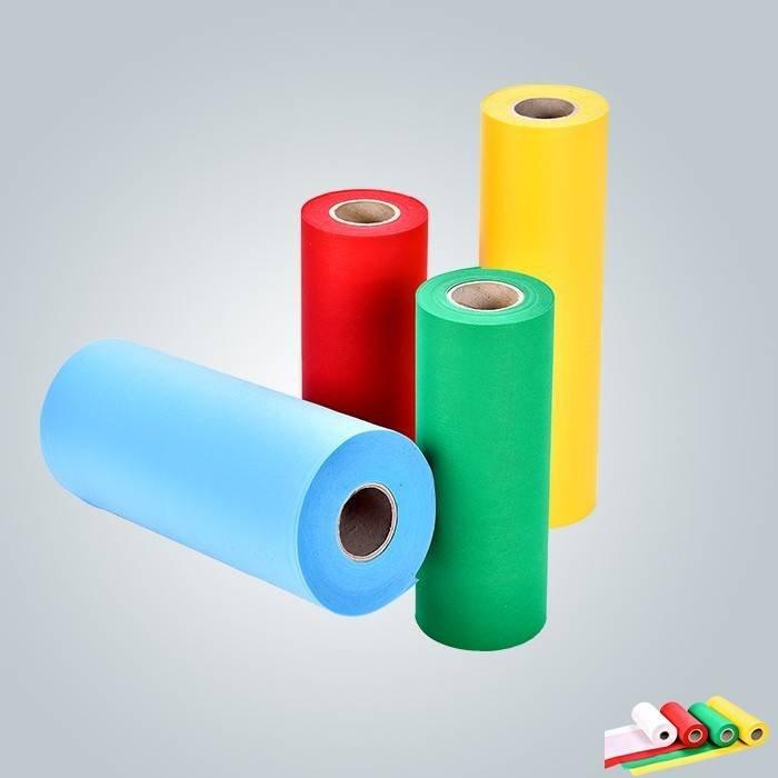 गैर बुना शॉपिंग बैग बनाने के लिए प्रयुक्त 100% पीपी विभिन्न रंग का चयन गैर बुना कपड़ा