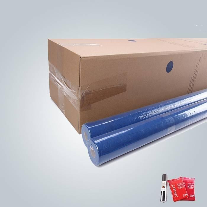 Kleine Rolle Tischdecke in blau