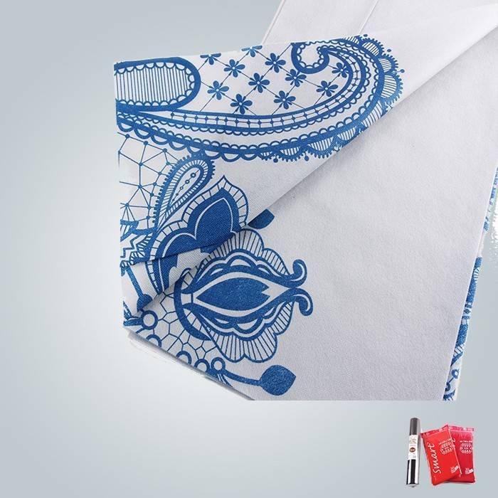 40 grammi e 60 grammi di stampa tessuto non tessuto utilizzato in tovaglie e materasso