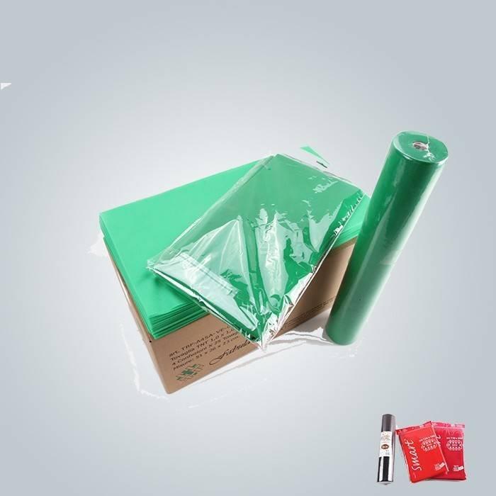 Hitzebeständige nichtgewebte Tischdecke des Vlies-45g oder des Vlies-50g Gewebe 100% abbaubar