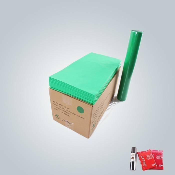 Full Size 40g a 60g di stampa tovaglia tessuto non tessuto Tnt per banchetto usato