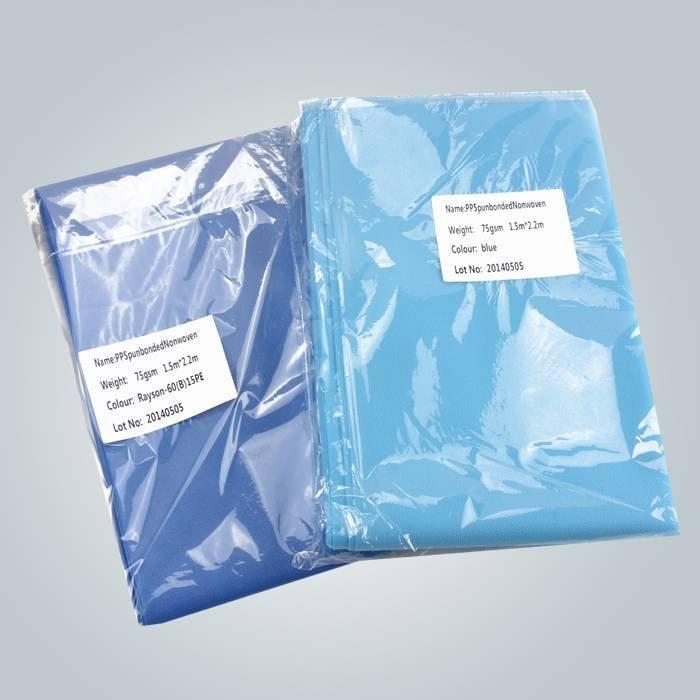 Hospital usa cubierta de cama desechables no tejidas con embalaje Individual