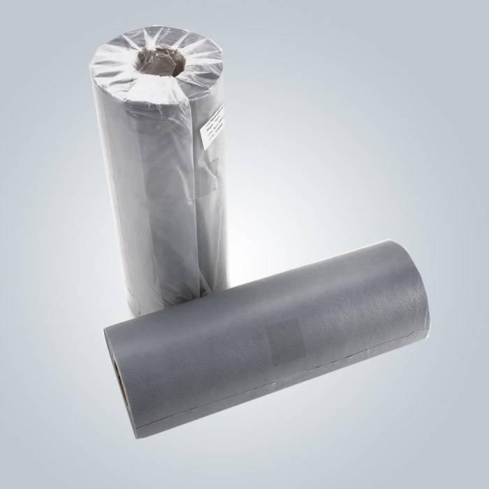 Isolierungs-Funktionswasser-schützende nichtgewebte Bett-Abdeckung in der grauen Farbe