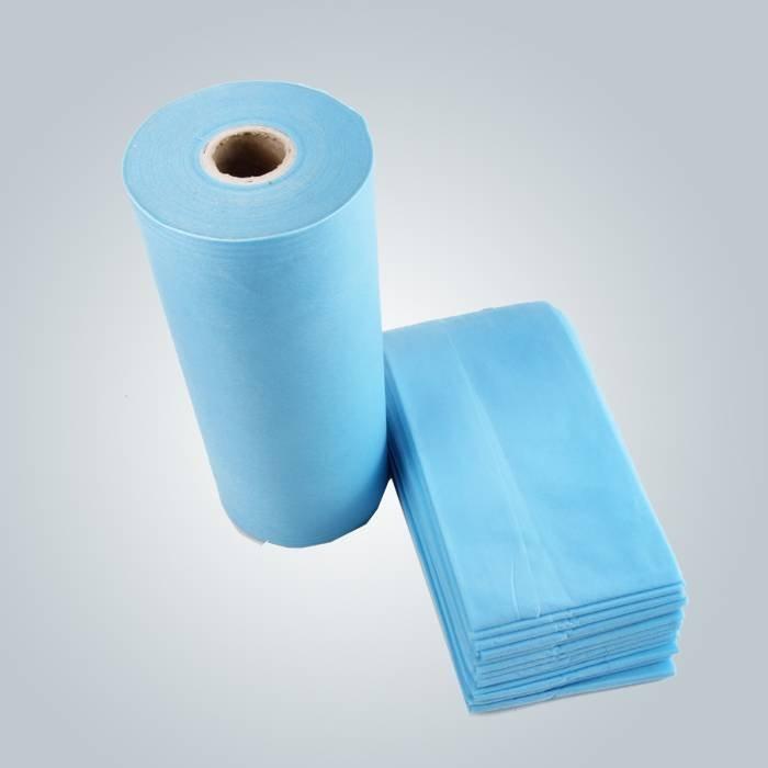 Weiches und bequemes wegwerfbares nichtgewebtes materielles Spunbond Bettlaken für Badekurort