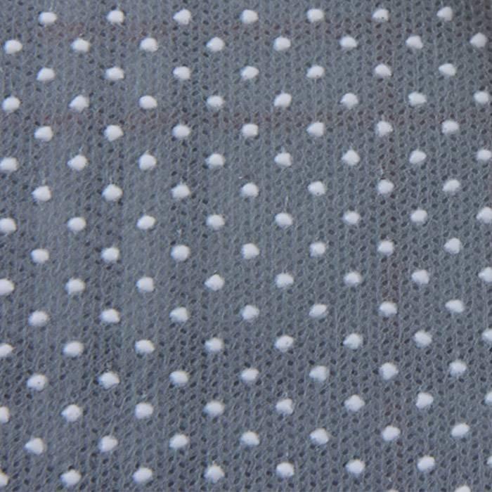 Tissu antidérapant non tissé durable de Spunbonded de pp avec des points de PVC, utilisation à la maison de textile