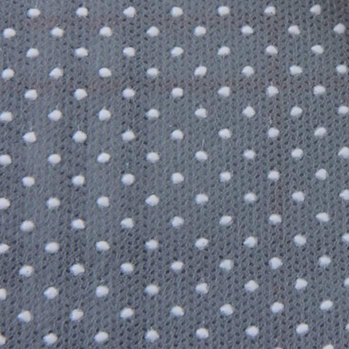 टिकाऊ पीपी spunbonded पीवीसी डॉट्स, होम टेक्सटाइल उपयोग के साथ गैर बुना विरोधी पर्ची कपड़े