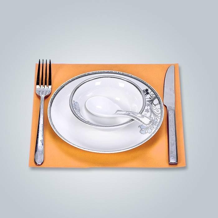 Hygienisches und wasserdichtes nicht gesponnenes Tischset