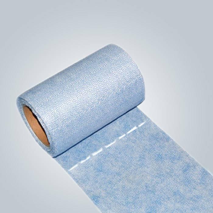 سبونبوند محبوكة الصبح ورقة السرير لفة مع خط ثقب لسهولة تمزيق