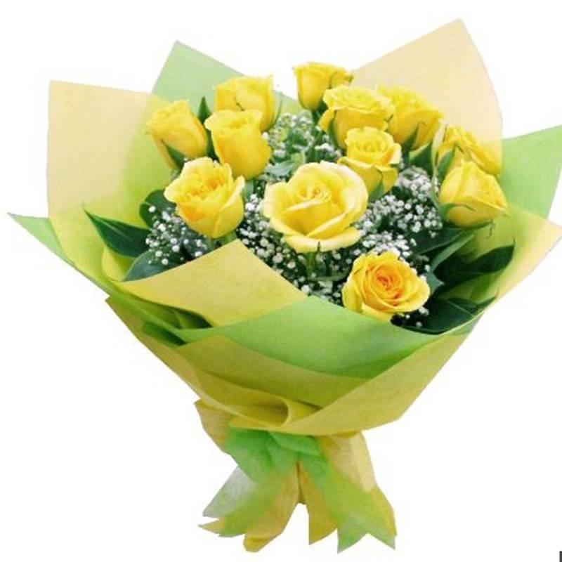 زهرة التفاف النسيج لمحلات الزهور