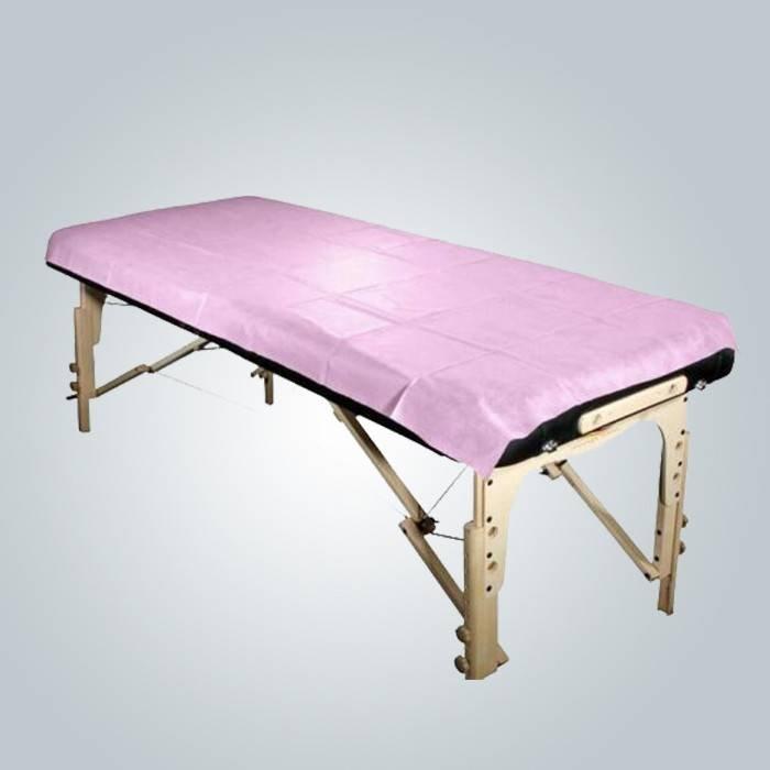 Salón de belleza Impermeable no tejido Bedsheet