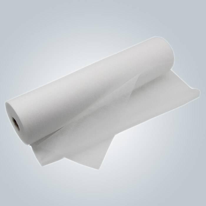 صديقة للبيئة يمكن التخلص منها ورقة السرير لفة مع خط ثقب لعيادة الجدول كرسي