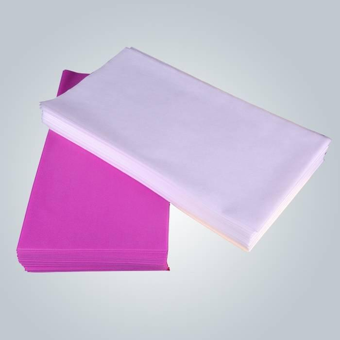 Antibacterial Desable Couch Cover Use No Facial Spa Room