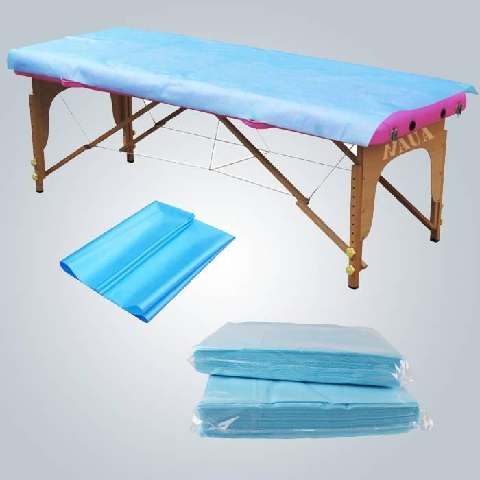 Couverture imperméable jetable de divan antibactérien de pp de feuille de lit de pp antibactérien