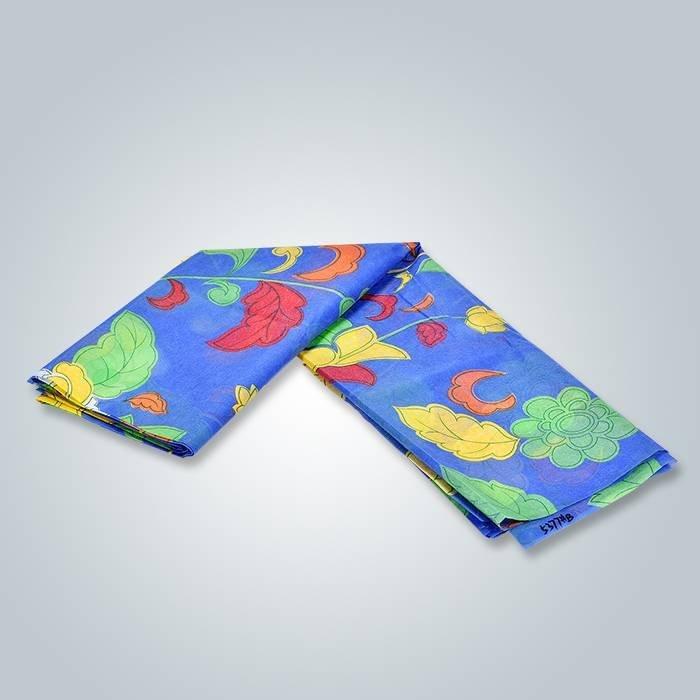 Max 6 couleurs 230 cm largeur Spunbond imprimé non-tissé pour la tapisserie d'ameublement