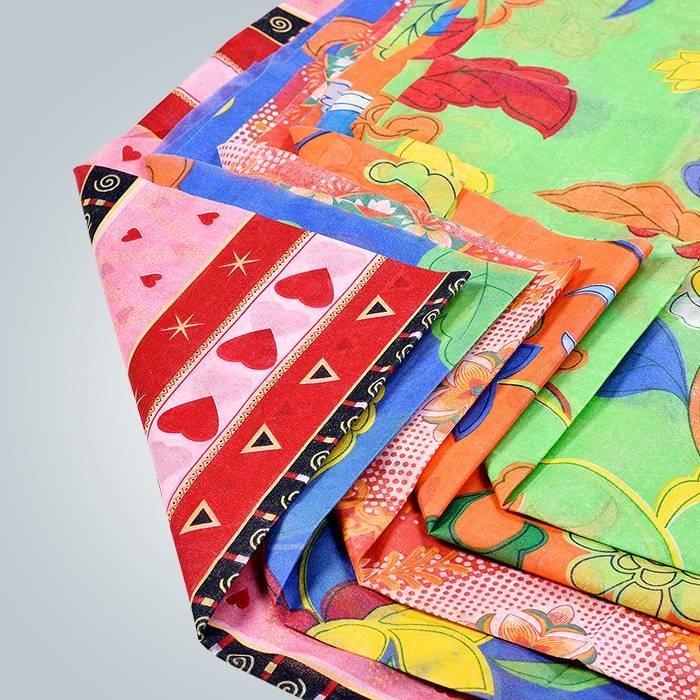 160cm fertigen gedrucktes Nowoven für Wegwerfabendtisch-Abdeckung besonders an