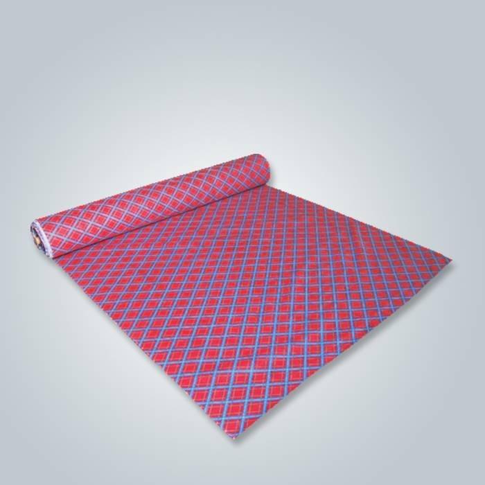 Foshan a imprimé des techniques non-tissées de tissu pour l'usage de meubles