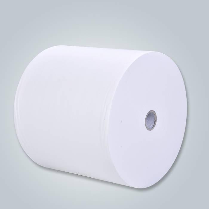 Tessuto non tessuto di colore bianco di SS morbido per le industrie igieniche e mediche