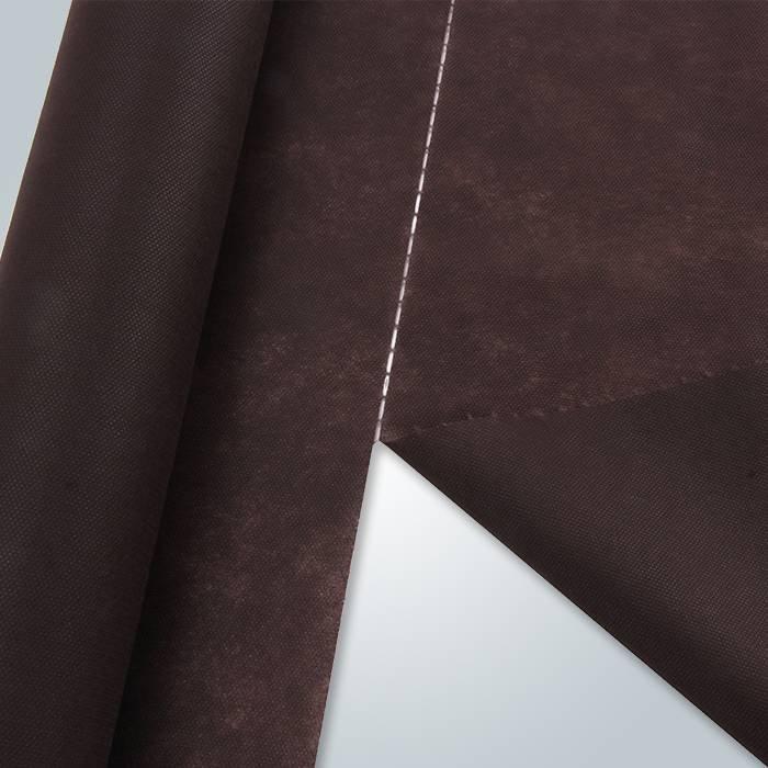 Matrerial de materia prima polipropileno perforada a tela no tejida para muebles