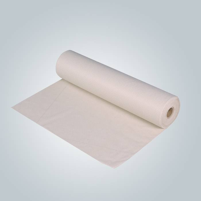 Beige / gris 90 grammes anti tissu feuillet non tissé pour matelas